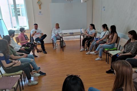 #SMARTTalks նախաձեռնության շրջանակներում տեղի ունեցավ հանդիպում ԲՊՀ շրջանավարտ, գործարար, բարերար Տիգրան Սահակյանի հետ