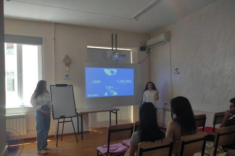 ՍՄԱՐԹ ձեռներեցության կենտրոնում տեղի ունեցավ հանդիպում AIESEC-ը երիտասարդական, կամավորական կազմակերության ներկայացուցիչների հետ