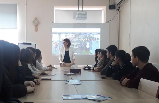 ԵՊԼՀ-ում հյուրընկալեցին Թաթուլ Կրպեյանի անվան համար 62 ավագ դպրոցի աշակերտներին