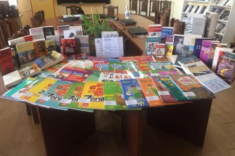 ԲՊՀ-ն ֆրանսերեն ուսումնական և գեղարվեստական 90-ից ավելի գրքերի նվիրատվություն է ստացել ֆրանսիական AMOPA ՀԿ-ի կողմից