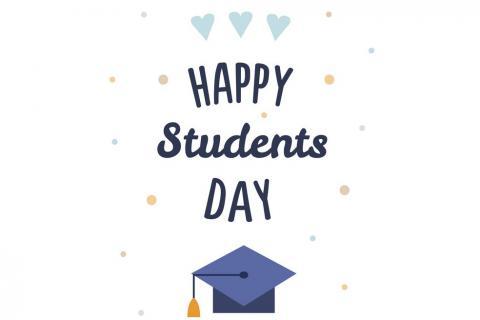 Շնորհավոր ձեր տոնը, սիրելի՛ ուսանողներ