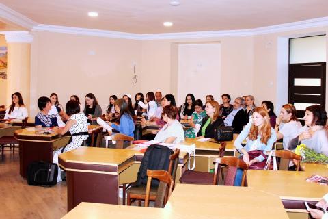 Տեղի ունեցավ «Քերականության դասավանդման նորագույն մեթոդները և մետալեզվական արտահայտչամիջոցները սովորողների խոսքում» գիտաժողովը