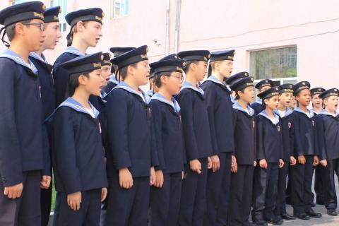 Վիեննայի տղաների երգչախումբը ԵՊԼՀ-ում