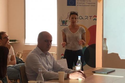 Public Lecture within the Framework of Erasmus + SMART Project at YSULSSmart Caffé