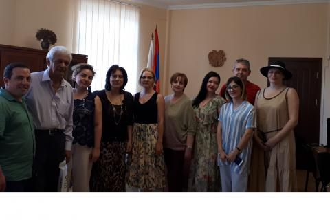 Erasmus + SMART Project Meeting at Yerevan Brusov State University of Languages and Social Sciences