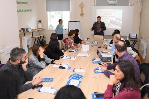 Վրաստանի երիտասարդության ոլորտի ներկայացուցիչները ճանաչողական այցի շրջանականերում եղան նաև ԵՊԼՀ-ոմ