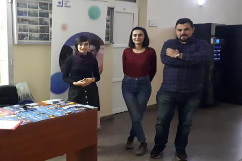 «Դասավանդի՛ր Հայաստան» կրթական հիմնադրամի աշխատակազմի անդամները հյուրընկալվել էին ԵՊԼՀ-ում