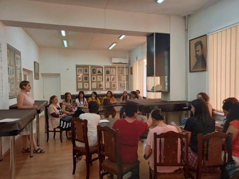 Գրադարանավարների մասնագիտական վերապատրաստման երկօրյա դասընթաց  II փուլ