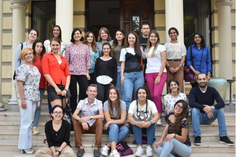 """YSULS Career Center Specialist Ani Hovsepyan Particpated in the The """"Youth@Work - Supporting women's entrepreneurship through youth work"""" Training Course"""