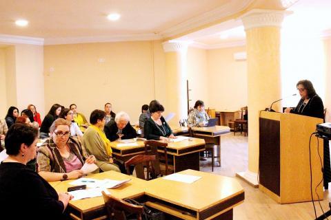 «Գրականության և մշակույթի արդի հիմնախնդիրները» խորագրով գիտաժողովը եզրափակեց իր աշխատանքները