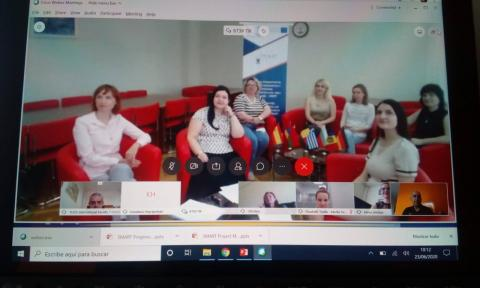 Erasmus + SMART Project Online Meeting