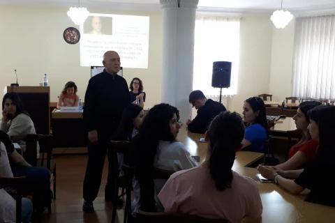 Տեղի ունեցավ Ժերար Շալիանի դասախոսությունը ԵՊԼՀ-ում
