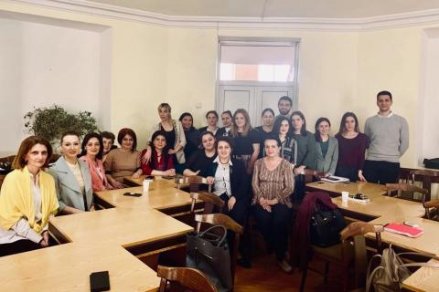 Անգլերենի հաղորդակցման և թարգմանության ամբիոնը արժանացել է թարգմանաբանության եվրոպական ընկերության Գրքերի գնման դրամաշնորհին