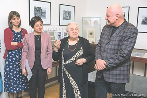Մոսկվայում մեկնարկել է«Վ.Բրյուսովի Տան պատմությունից»խորագրով միջազգային ցուցահանդեսը